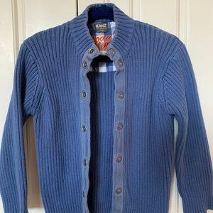 KANZ boy's cotton sweater cardigan